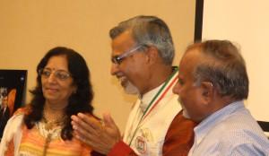Dr Kamalesh Lulla with Devikaben and Satishbhaai