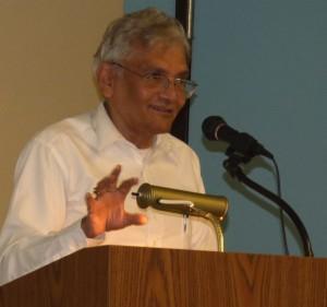 Vijay as Master of ceremony